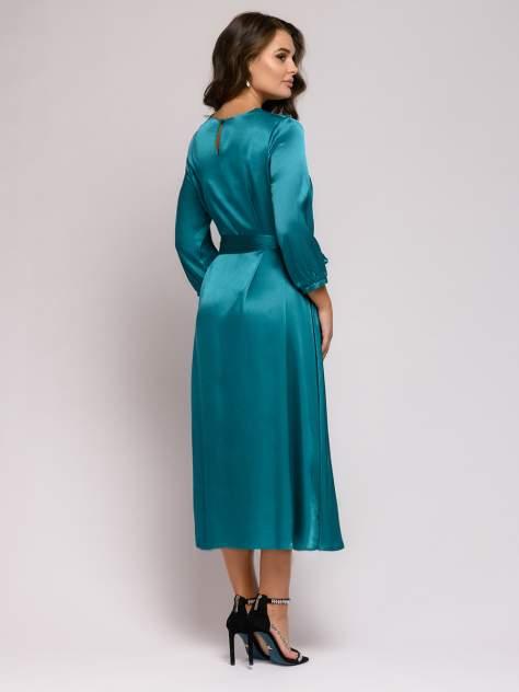 Вечернее платье женское 1001dress 0112001-01978TR бирюзовое 46