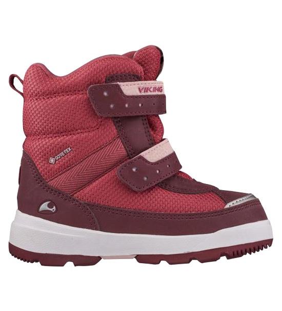 Ботинки для девочек Viking цв. красный р-р. 29