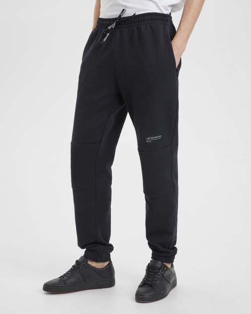 Спортивные брюки мужские BARMARISKA БМ-Б0446 черные 64-66