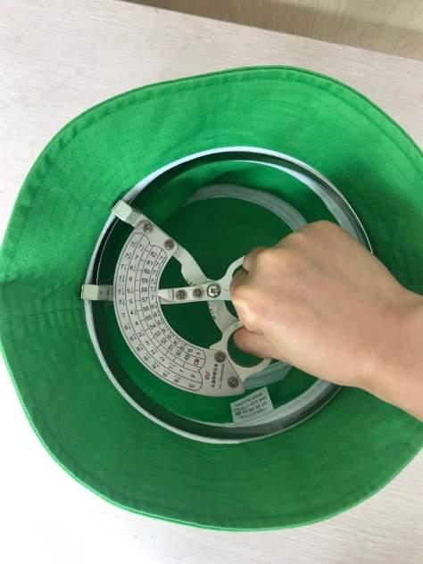 Панама мужская RobyKris 118-09 зеленая