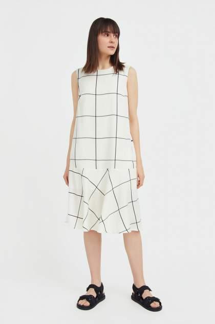 Женское платье Finn Flare S21-14049, белый