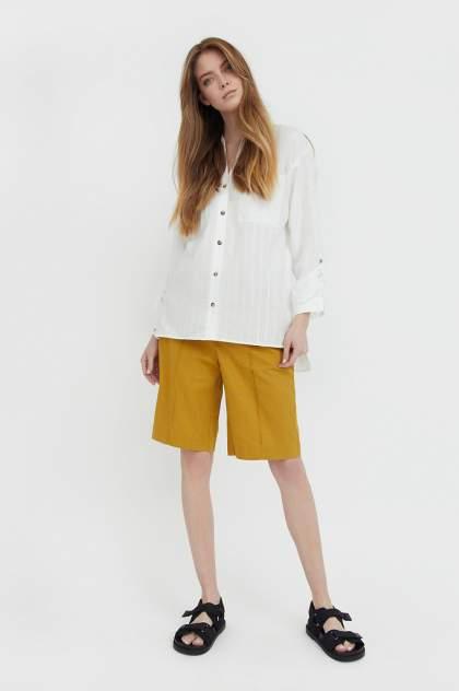 Женские шорты Finn Flare S21-11015, желтый