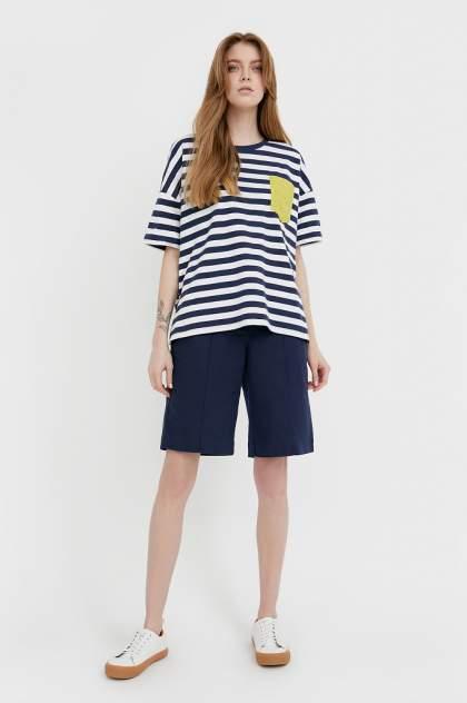 Женские шорты Finn Flare S21-11015, синий