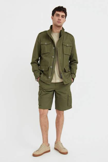 Шорты мужские Finn Flare S21-22034, зеленый