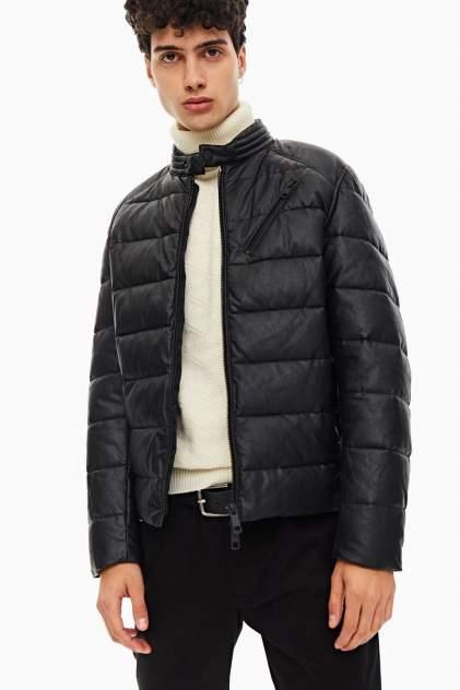 Кожаная куртка мужская Antony Morato MMCO00684-FA210045 9000 черная 52 IT