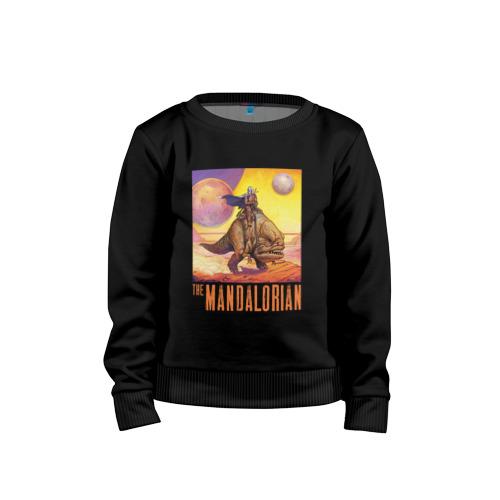 Детский свитшот ВсеМайки The Mandalorian хлопок, размер 104