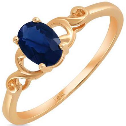 Кольцо женское Лукас-Голд R01-C-L-34279-SA р.17.5