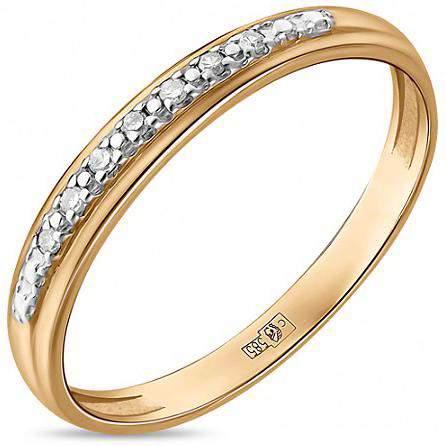 Кольцо женское Лукас-Голд R01-D-RMS067 р.17.5
