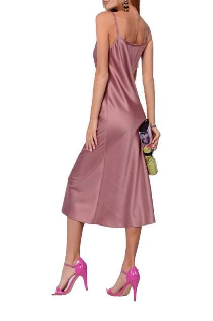 Платье-комбинация женское FRANCESCA LUCINI F14846 коричневое 48