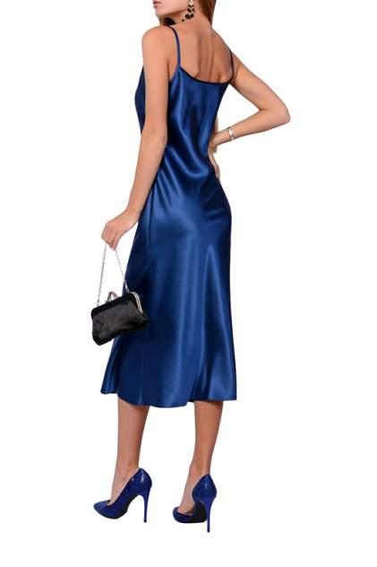 Платье-комбинация женское FRANCESCA LUCINI F14846 синее 46
