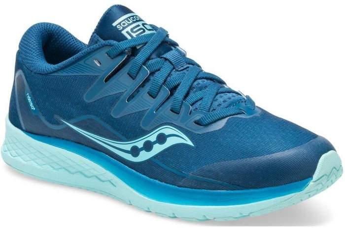 Беговые кроссовки Saucony 2020 S-Ride Iso 2 Blue/Aqua, р. 37,5