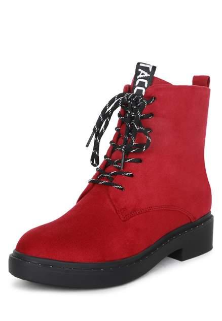 Ботинки женские T.Taccardi K0583MH-2A красные 41 RU
