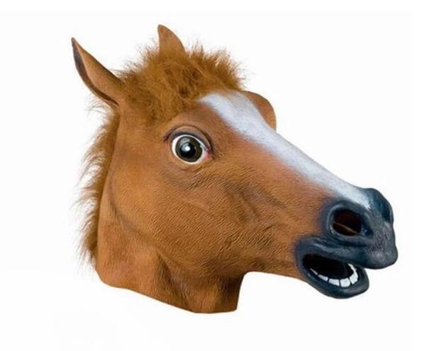 Карнавальная маска Голова лошади