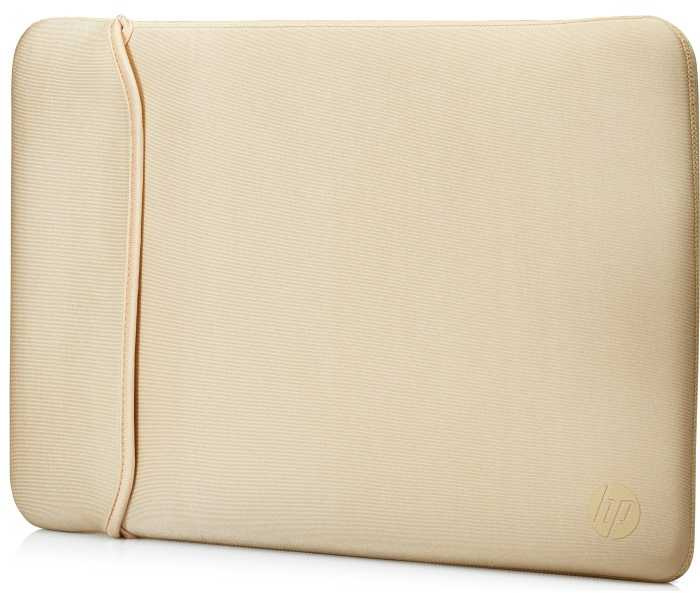 """Чехол для ноутбука HP Chroma Sleeve 14"""" черный/золотистый"""