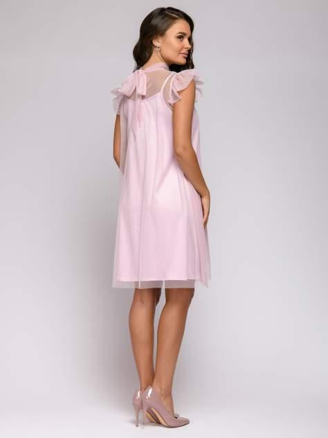 Вечернее платье женское 1001dress 0112001-01918PK розовое 40