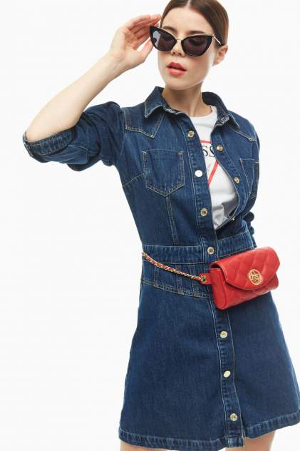Женское платье Guess W0YK13-D3Y07, синий