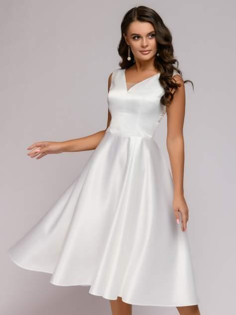 Вечернее платье женское 1001dress 0112001-01992WH белое 40