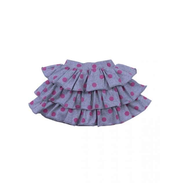 Юбка для девочек Bonito kids 3708-01 цв. меланжевый р.92