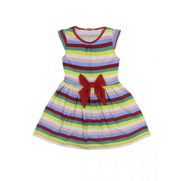 Платье для девочек Bonito kids 3696-01 цв. красный р.140
