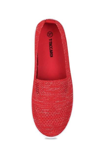 Слипоны женские T.Taccardi ZB20SS-001B красные 36 RU