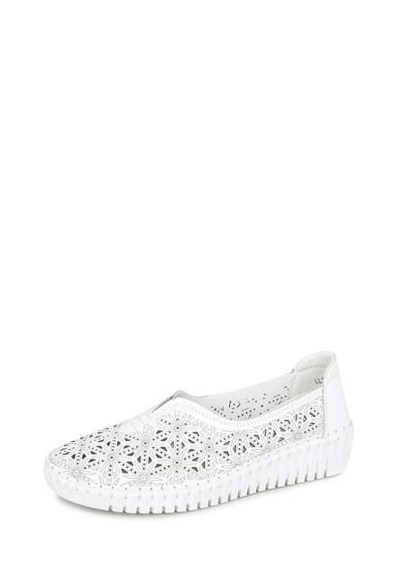 Балетки женские Alessio Nesca Comfort 710019172 белые 39 RU