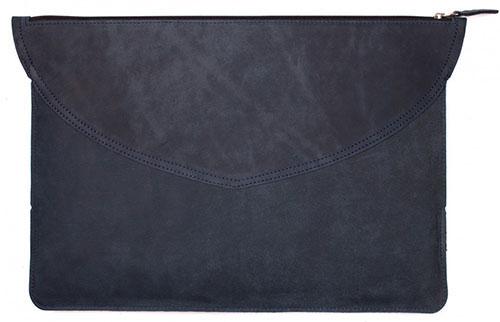 Кожаный чехол-папка Stoneguard 521 (SG5210102) для MacBook Pro 13 (Ocean)