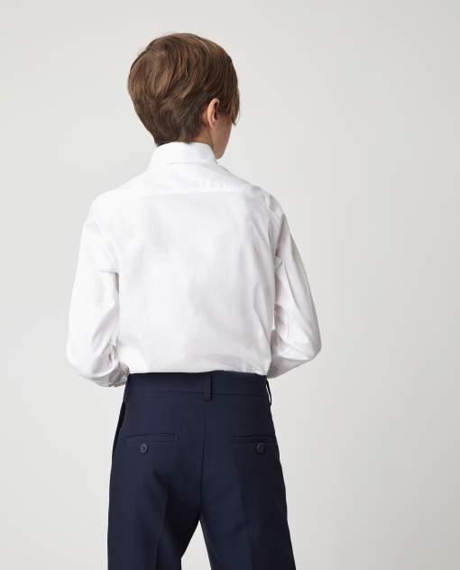 Белая рубашка Gulliver 220GSBC2326, размер 128