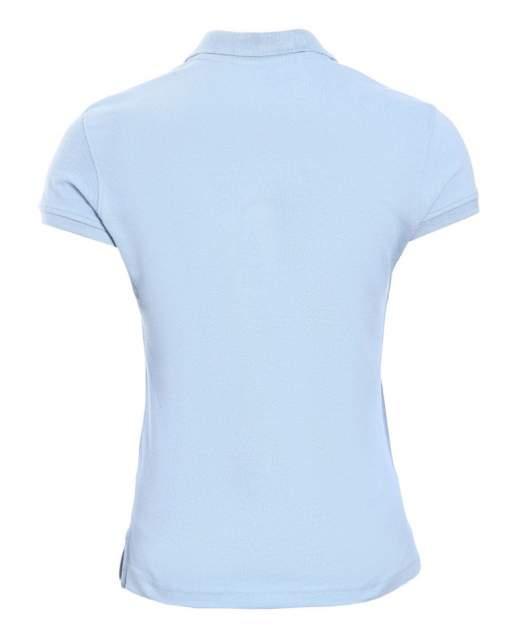Поло женское KARIBAN W3 голубое S
