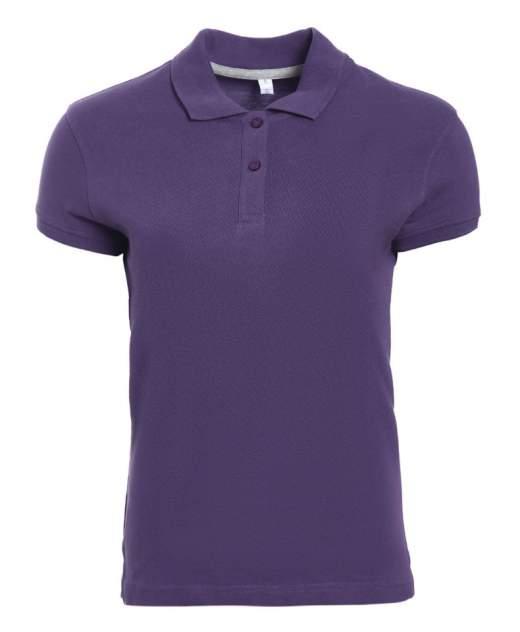 Поло женское KARIBAN W3 фиолетовое L