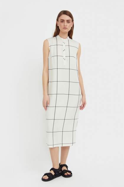 Женское платье Finn Flare S21-14051, белый