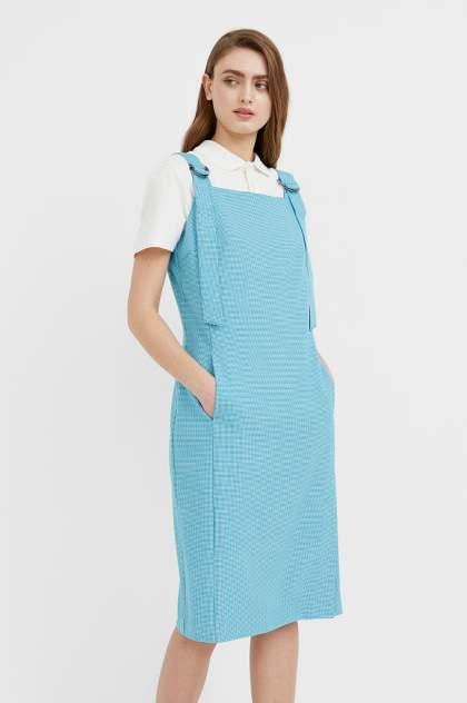 Женское платье Finn Flare B21-11012, бирюзовый