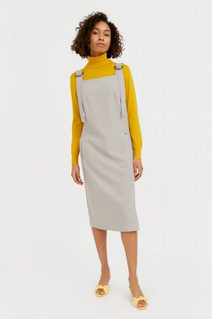 Женское платье Finn Flare B21-11012, коричневый