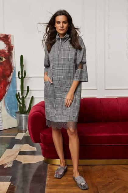Домашнее платье Laete 30351-1, серый