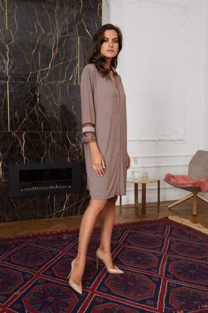 Домашнее платье Laete 51836, коричневый