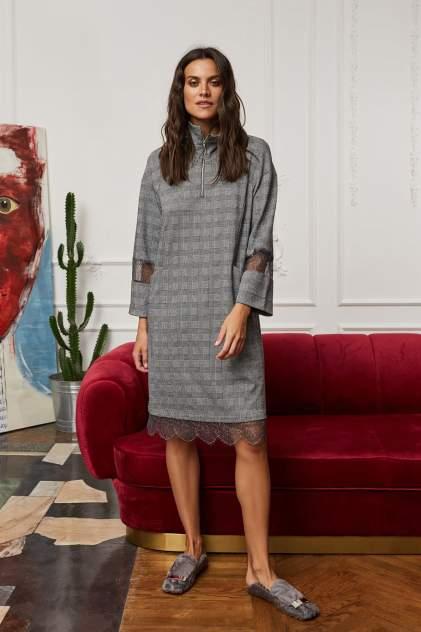 Домашнее платье Laete 30396, серый