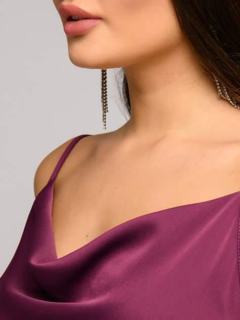 Вечернее платье женское 1001dress DM01754BE бордовое 44