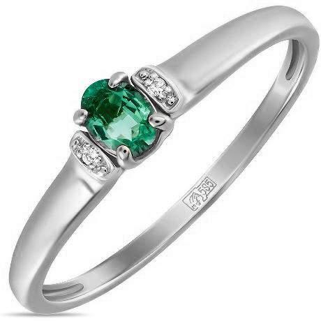 Кольцо женское Лукас-Голд R01-D-BS-0054-EM р.17