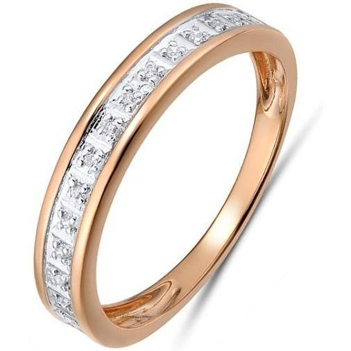 Кольцо женское Лукас-Голд R01-D-R312789DIA р.17.5