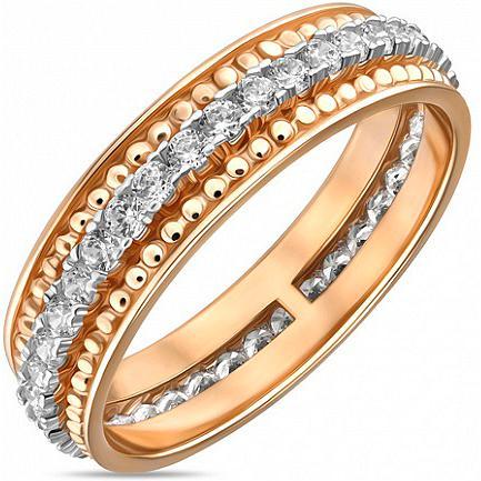 Кольцо женское Лукас-Голд R01-Z-59333-Z р.19.5