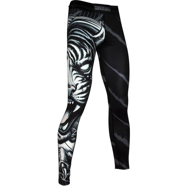 Тайтсы Athletic pro. Tiger MSP-136, черный