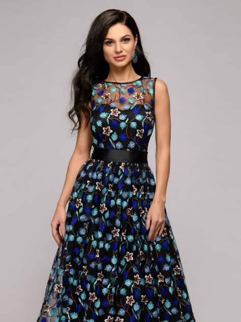 Вечернее платье женское 1001dress DM01107BK черное 42