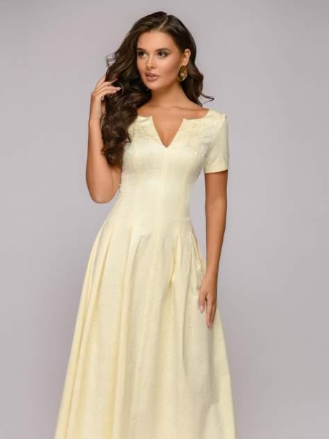 Вечернее платье женское 1001dress DM00383VA желтое 42
