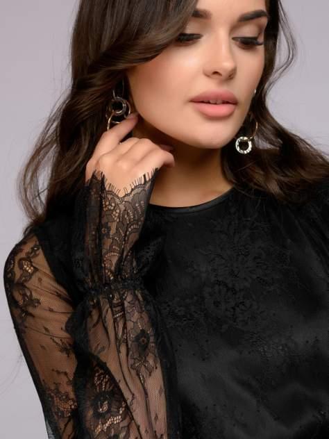 Вечернее платье женское 1001dress DM01213BK черное 44