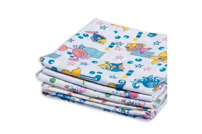 Пеленки для новорожденных Чудо-Чадо 80х120 см 5 штук