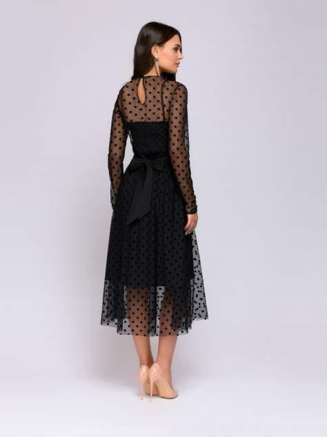Вечернее платье женское 1001dress DM01050BK черное 40