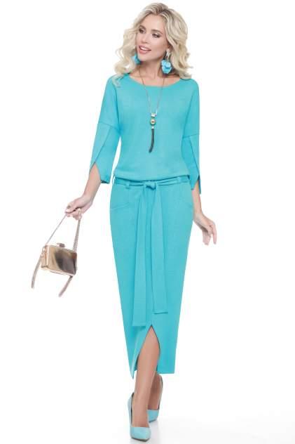 Женское платье Миллена Шарм 2098, бирюзовый