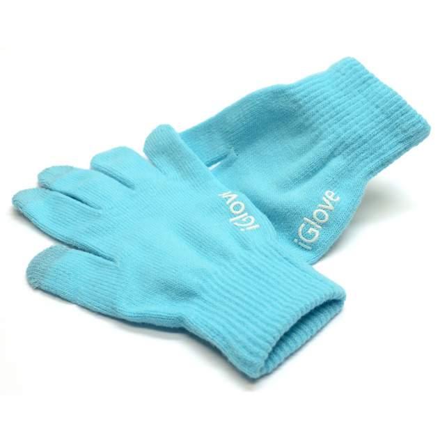Женские перчатки iGlove W0160Bl, голубой