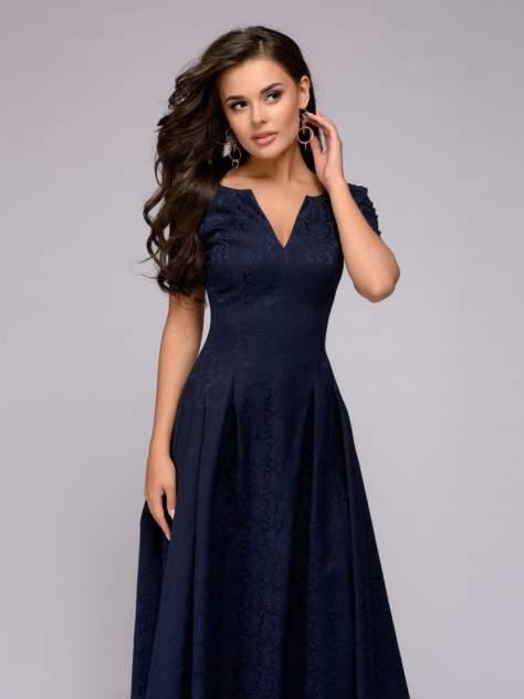 Вечернее платье женское 1001dress DM00383DB синее 42