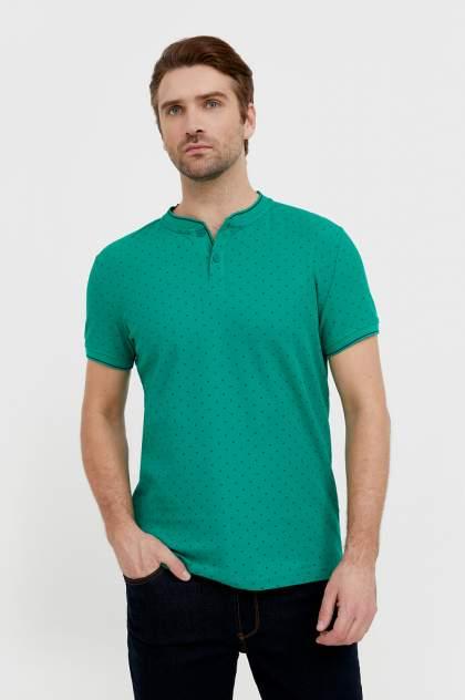 Футболка-поло Finn Flare B21-21025, зеленый