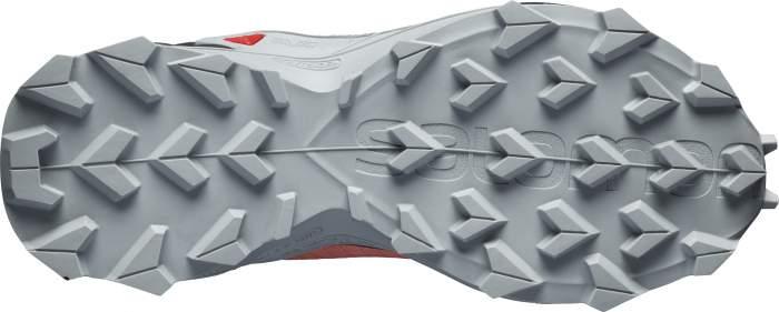 Беговые кроссовки Salomon Alphacross Blast Cswp J Burnt Coral/Ebony/Quarry, р. 32
